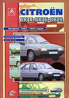 Citroen BX бензин Инструкция по эксплуатации, техобслуживанию и ремонту