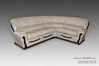 Угловой кожаный диван Болеро, Аланда