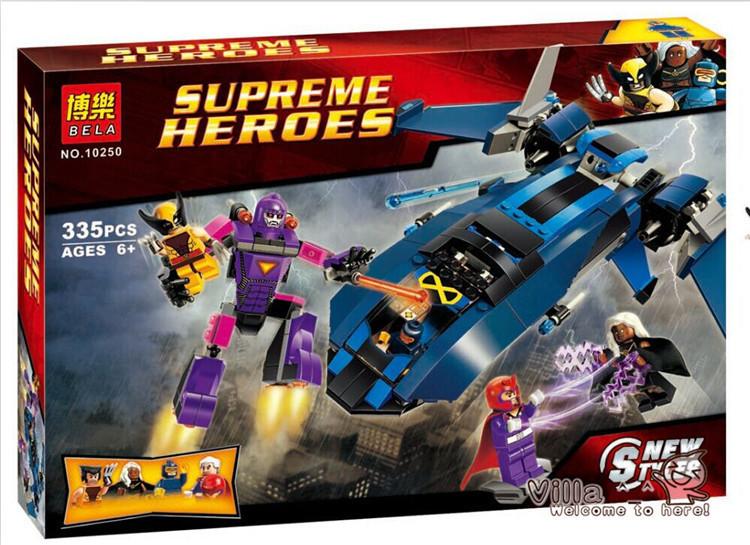 Конструктор Bela 10250 Супергерои, 335 деталей