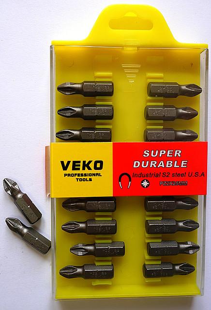 Бита VEKO PZ2*25MM (20 шт. в упаковке)