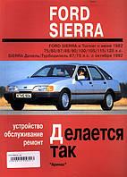 Ford Sierra Руководство по ремонту, инструкция по эксплуатации и обслуживанию автомобиля