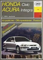 Honda Civic 5,6 Руководство по диагностике и ремонту, инструкция по эксплуатации