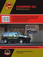 Книга Hummer H2 Руководство по обслуживанию и ремонту, инструкция по эксплуатации авто