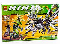 "Конструктор  Bela Ninja (аналог Lego Ninjago) 9789  ""Последняя битва"" , 911 деталей, фото 1"