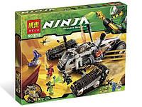 """Конструктор Bela Ninja (аналог Lego Ninjago 9449) 9788 """"Сверхзвуковой самолет"""", 622 деталей"""