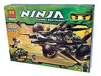 """Конструктор  BELA (аналог Lego Ninjago) 9759 """"Атака Коула"""" , 285 деталей"""