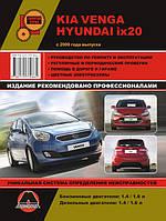 Книга Kia Venga, Hyundai ix20 Руководство по ремонту, эксплуатации и техобслуживанию, фото 1