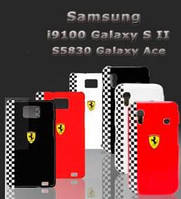 Чехол для Samsung i9100/i9105 Galaxy S2 Plus - Ferrari Formula 1 back cover
