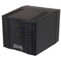 Стабилизатор Powercom TCA-600 черный ступенчатый, 300Вт