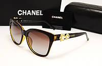 Женские солнцезащитные очки Chanel 6106 коричневый цвет, фото 1