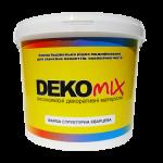 Краска структурная кварцевая силиконовая DekoMix, 15 кг