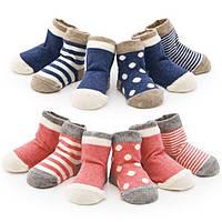 Набор: Носочки для мальчиков и девочек, р. 4 - 6 и 13-24 мес