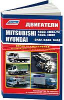 Книга Mitsubishi 4D33, 4D34-T4, 4D35, 4D36: Руководство по ремонту и обслуживанию двигателя