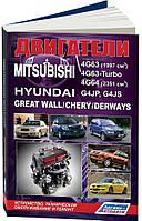 Книга Mitsubishi 4G63, 4G63-Turbo, 4G64: Справочник по ремонту двигателей