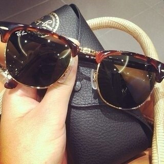 Clubmaster Ray Ban.