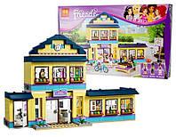 "Конструктор Bela Friends ""Школа Хартлейк Сити"" (аналог Lego 41005) 487 дет, 10166"