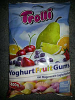 Trolli - Yoghurt Fruit Gums йогурутные фруктовые жвачки