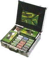 Набор для игры в покер (600 фишек) 9158