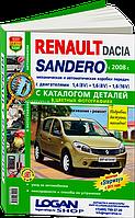 Renault Sandero/Stepway Инструкция по эксплуатации и ремонту в цветных картинках