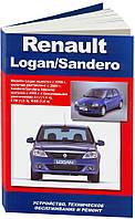 Renault Logan/Sandero Руководство по диагностике и ремонту, обслуживанию и эксплуатации