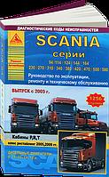Книга Scania 94, 114, 124, 144, 164, 580 Мануал по ремонту, диагностике, обслуживанию и эксплуатации