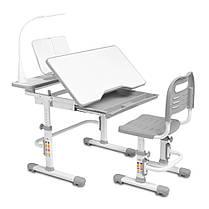 Эргономичный комплект Cubby парта и стул-трансформеры Botero Grey, фото 2