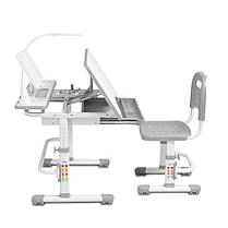 Эргономичный комплект Cubby парта и стул-трансформеры Botero Grey, фото 3