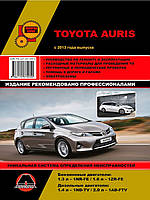 Книга Toyota Auris E180 c 2013 Керівництво по експлуатації, ремонту