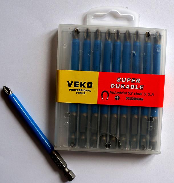Биты VEKO PH2*90 мм (10 шт. в упаковке)