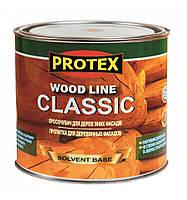 Пропитка для деревянных фасадов ТМ PROTEX WOOD LINE CLASSIC (2,1л/10л) От упаковки