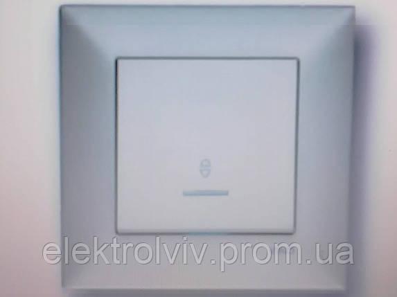 Кнопочный выключатель с подсветкой, фото 2