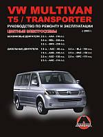 Volkswagen T5 бензин, дизель Руководство по ремонту