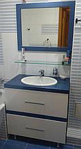 Мебель для ванной комнаты в современном стиле на заказ