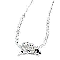 Птицы любви ожерелье