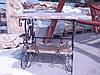Стол мраморный с полочкой