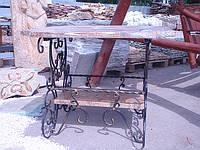 Стол мраморный с полочкой, фото 1