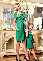 Платье модное для мамы и дочки, фото 1