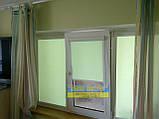 Тканинні ролети,Рулонні штори,закритого типу В КОРОБІ З НАПРАВЛЯЮЧИМИ, фото 9