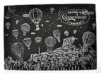 Скретч плакат ночной Турции