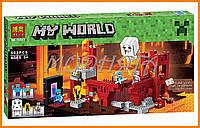 Конструктор Bela аналог LEGO Minecraft 571 деталей арт. 10393