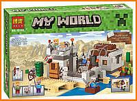 """Конструктор Bela аналог LEGO Minecraft 21121 """"Пустынная станция"""" 519 деталей арт. 10392"""