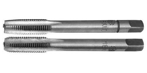 Метчик машинно-ручной М16х2 комплект из 2-х штук Р6М5 Китай шлифованный