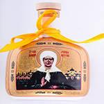 Бутылка керамическая для подсолнечного масла, воды 15 см  55-2909