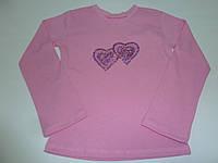 Модный розовый реглан для девочки