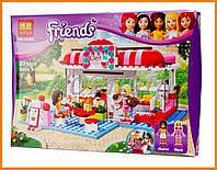 """Конструктор Bela """"Кафе в городском парке"""" 222 деталей арт.10162 (аналог LEGO Friends 3061)"""