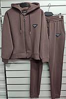 """Спортивный костюм женский, размеры M-XL (6цв) """"QU STYLE""""  недорого от прямого поставщика"""