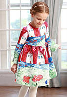 Детское платье реплика Dolce & Gabbana. Детский рисунок.