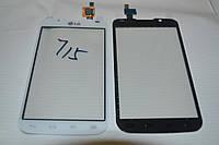 Оригинальный тачскрин / сенсор (сенсорное стекло) для LG Optimus L7 Dual SIM P715 P716 (белый цвет)