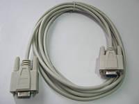 Нуль модемный кабель RS232 ( длина - 3 метра )