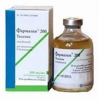 Фармазин —  активен в отношении большинства грамположительных  бактерий.